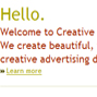 Creative Impressions Marketing, LLC.
